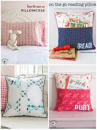 Pillow Sewing Patterns Adorable Pocket Pillow Sewing Pattern On Polka Dot Chair Blog