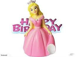 Princess Cake Topper And Happy Birthday Moto Trade Me