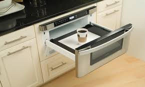 cup of coffee in a microwave