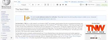 Photo Editor Wikipedia Wikimedias Wysiwyg Visual Editor Out For Logged In