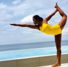 bikram instructor kru nong at 5 elements hot yoga resort et thailand