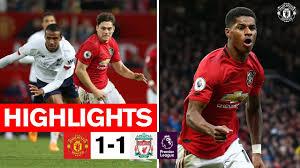 Highlights   United 1-1 Liverpool