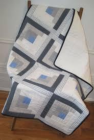 Easy log cabin quilt | takarók | Pinterest | Log cabin quilts, Log ... & Easy log cabin quilt Adamdwight.com