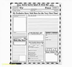 Simple Newspaper Template Plus Fresh 47 Newspaper Layout Template