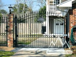 wrought iron fence gate. Simple Gate Wrought Iron Fences Lowes Fence Metal Backyard Gates New Ideas  And On Wrought Iron Fence Gate R