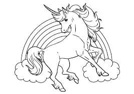 Disegni Da Colorare E Stampare Unicorni Disegno