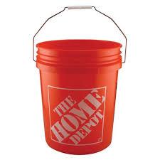 home depot 5 gal homer bucket