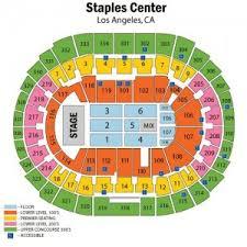 Staples Center Tickets 2018