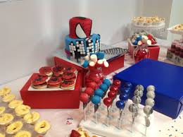 Spiderman Dessert Table Cakes And Desserts In 2019 Birthday