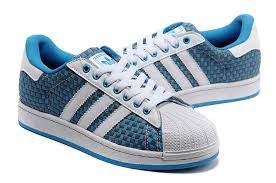 adidas shoes blue and white. adidas originals superstar supercolor shoes weave blue white and