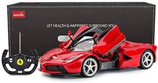 Save big on our app! Amazon Com Rastar Rc Car 1 14 Scale Ferrari Laferrari Radio Remote Control R C Toy Car Model Vehicle For Boys Kids Red 13 3 X 5 9 X 3 3 Inch Toys Games