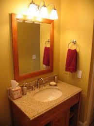 excellent modern vanity lights short shades three sets above bathroom