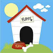 dog house clipart. Beautiful Clipart Dog House Cute Dog House And House Clipart
