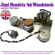 jimi hendrix reproduction stratocaster strat wiring kit hand image 1