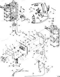 Diagram of 60 efi 4 cyl 4 stroke mercury outboard