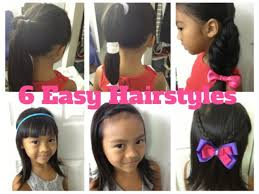 6 Easy \u0026 Quick Hairstyles for Girls - Episode #3 - YouTube