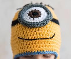 Minion Hat Crochet Pattern Beauteous Crochet Minion Hat Kit Repeat Crafter Me