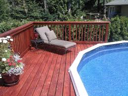 square above ground pool with deck. Square Above Ground Pool With Deck .