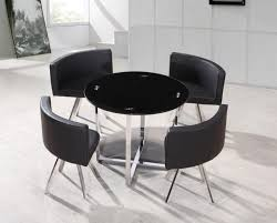 kitchen table roundy phenomenal image inspirations black glass