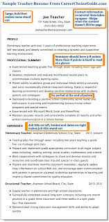 Sample Teacher Resume Combination Style Beauteous Grade Resume