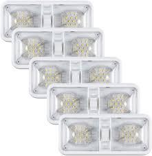 Amazon Rv Interior Lights Kohree 12v Led Rv Ceiling Dome Light Rv Interior Lighting For Trailer Camper With Switch Natural White 4000 4500k 600 Lumens Pack Of 5