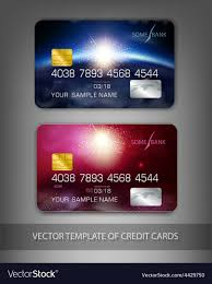 Modern Credit Card Design Template Credit Cards With Modern Design Space