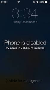 Pattern Password Disable Delectable Incredible IPhone Is Disabled Try Again In 48 Minutes 48to48Mac