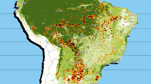Time Map See A Real Time Map Of All The Fires Burning Down The Amazon