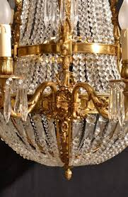 french empire style two tier eighteen light ballroom chandelier for 4
