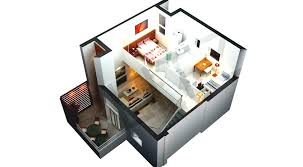 architecture 3d floor plan