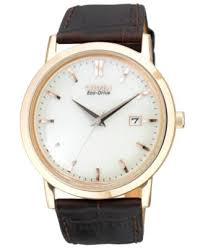 citizen men s eco drive brown leather strap watch 40mm bm7193 07b citizen men s eco drive brown leather strap watch 40mm bm7193 07b watches jewelry watches macy s