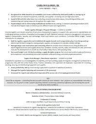 Resume Template Executive Resume Sample Free Career Resume Template
