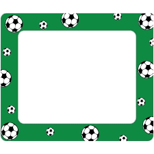 soccer picture frames soccer sticker frame cardboard soccer picture frames