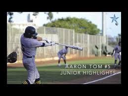 Aaron Tom 2019 Junior Highlights - YouTube