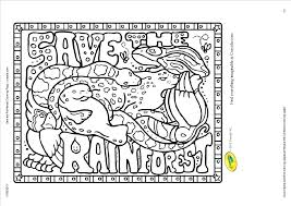 coloring pages of rainforest animals great jungle coloring pages wall picture plus good jungle coloring pages