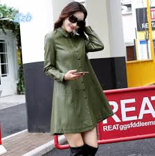 2018 autumn leather clothes young woman coat jpg