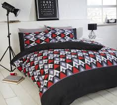 bedding stupendous red black and white bedding image inspirations