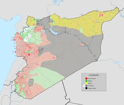 Image result for syria map