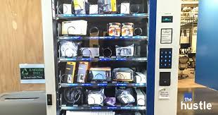 Electronics Vending Machine Stunning Fancy Job Perks Won't Make You Happy
