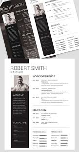 Personal Resume Template Free Download Download PSD