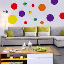 home décor mint green polka dot vinyl