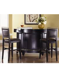 Park Avenue Home Bar 3 Piece Set Bar & 2 Bar Stools Furniture