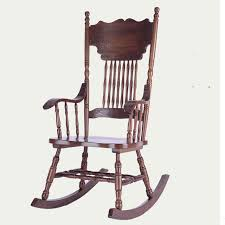 ameircan rocking chair carved oak wood living room furniture antique wooden vintage rocking relax swing
