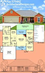 Best  Affordable House Plans Ideas On Pinterest - House with basement plans