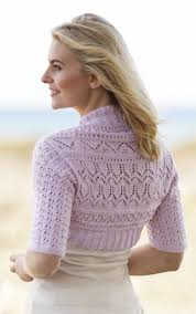 Free Shrug Knitting Patterns Delectable Free Shrug Knitting Pattern Lovely Pattern For Ladies Knitted Shrug