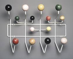Coloured Ball Coat Rack HangItAll Coat Rack By Charles And Ray Eames OEN 44