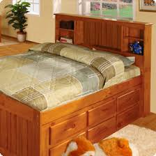 Captain Bed Twin with Storage | Captain Beds | Build Your Own Captains Bed