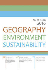 GEOGRAPHY, ENVIRONMENT, SUSTAINABILITY