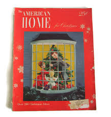 Small Picture Vintage American Home Magazine December 1948 Christmas Issue Home