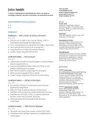 Freelance Web Design Reddit My Web Dev Resume Opinions Resumes